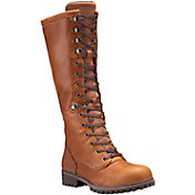 Timberland Women's Wheelwright Tall Lace Waterproof Casual Boots