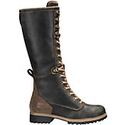 Timberland Women's Wheelwright Tall Lace Waterproof Wide Casual Boots