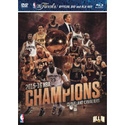 2015-2016 NBA Champions Cleveland Cavaliers DVD/Blu-ray Combo