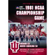 1981 NCAA Men's Basketball National Championship Game: Indiana vs. UNC DVD