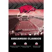 Arkansas Razorbacks Classics 3-DVD Set