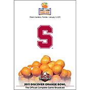 2011 Discover Orange Bowl Game - Stanford vs. Virginia Tech DVD