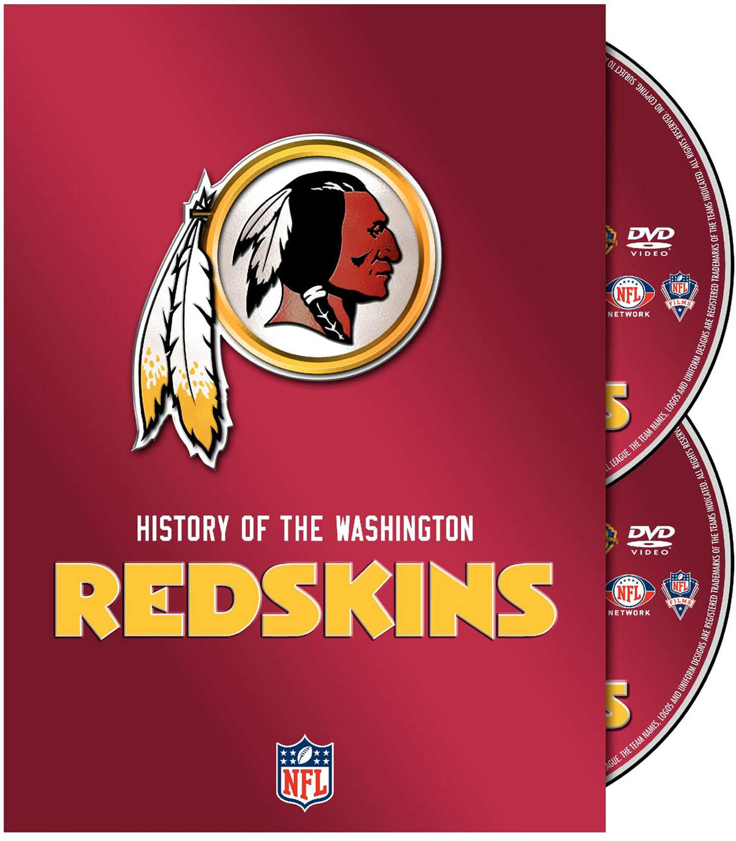 history of the washington redskins dvd set u0027s sporting goods
