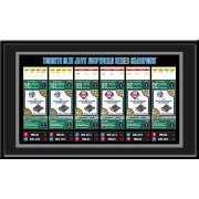 That's My Ticket Toronto Blue Jays 1993 World Series Framed Printed Ticket Collection