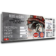 That's My Ticket Chicago Cubs Sammy Sosa 500th Home Run Canvas Mega Ticket