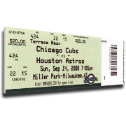That's My Ticket Chicago Cubs Carlos Zambrano No Hitter Mega Ticket