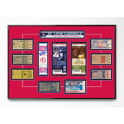 That's My Ticket St. Louis Cardinals 11x World Series Champions Framed Printed Ticket Collection