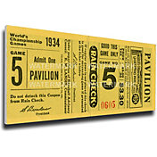That's My Ticket St. Louis Cardinals 1934 World Series Canvas Mega Ticket