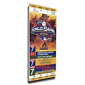 That's My Ticket Arizona Diamondbacks 2001 World Series Canvas Mega Ticket