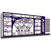 That's My Ticket Arizona Diamondbacks Randy Johnson 4000 Strikeouts Mega Ticket