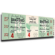 That's My Ticket Los Angeles Dodgers 1959 World Series Canvas Mega Ticket