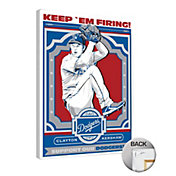 That's My Ticket Los Angeles Dodgers Clayton Kershaw Canvas Print