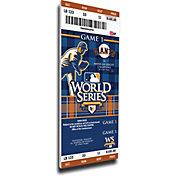 That's My Ticket San Francisco Giants 2010 World Series Canvas Mega Ticket