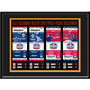 That's My Ticket San Francisco Giants 2012 World Series Framed Printed Ticket Collection