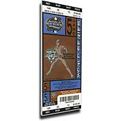 That's My Ticket Marlins 2003 World Series Canvas Mega Ticket