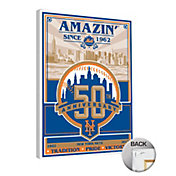 That's My Ticket New York Mets 50th Anniversary Canvas Print