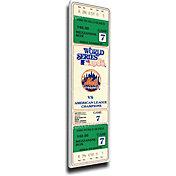 That's My Ticket New York Mets 1986 World Series Canvas Mega Ticket