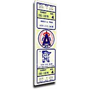 That's My Ticket California Angels Rod Carew 3000 Hits Mega Ticket