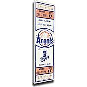 That's My Ticket Los Angeles Angels Reggie Jackson 500th Home Run Canvas Mega Ticket