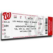 That's My Ticket Los Angeles Angels Albert Pujols 500th Home Run Canvas Mega Ticket