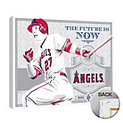 That's My Ticket Los Angeles Angels Mike Trout Canvas Print