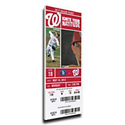That's My Ticket Washington Nationals Bryce Harper 1st Career Home Run Canvas Mega Ticket