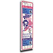 That's My Ticket Phillies 1980 World Series Canvas Mega Ticket