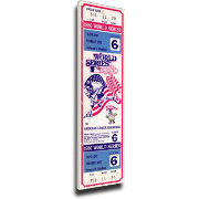 That's My Ticket Phillies 1980 World Series Canvas Mega Ticket