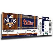 That's My Ticket Philadelphia Phillies Roy Halladay 2010 NLDS No Hitter Mega Ticket