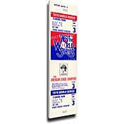That's My Ticket Pittsburgh Pirates 1979 World Series Canvas Mega Ticket