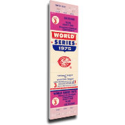 That's My Ticket Cincinnati Reds 1975 World Series Canvas Mega Ticket