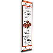 That's My Ticket Baltimore Orioles Cal Ripkin Jr. 2131 Consecutive Games Record Mega Ticket