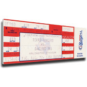 That's My Ticket Texas Rangers Nolan Ryan 5000 Strikeouts Mega Ticket