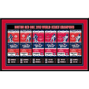That's My Ticket Boston Red Sox 2013 World Series Framed Printed Ticket Collection