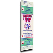 That's My Ticket Okland Athletics 1974 World Series Canvas Mega Ticket
