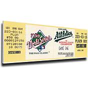 That's My Ticket Oakland Athletics 1989 World Series Canvas Mega Ticket
