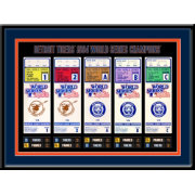 That's My Ticket Detroit Tigers 1984 World Series Framed Printed Ticket Collection