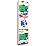 That's My Ticket Detroit Tigers 1984 World Series Canvas Mega Ticket