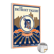 That's My Ticket Detroit Tigers Team Logo Canvas Print