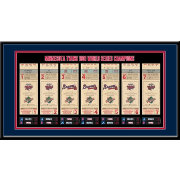 That's My Ticket Minnesota Twins 1991 World Series Framed Printed Ticket Collection