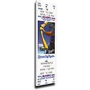That's My Ticket Minnesota Twins Paul Molitor 3000 Hits Mega Ticket