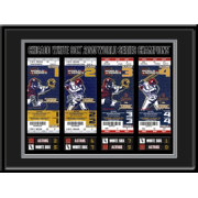 That's My Ticket Chicago White Sox 2005 World Series Framed Printed Ticket Collection