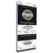 That's My Ticket New York Yankees 2009 Opening Day Mega Ticket