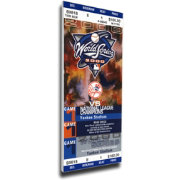 That's My Ticket New York Yankees 2000 World Series Canvas Mega Ticket