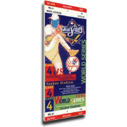 That's My Ticket New York Yankees 1999 World Series Canvas Mega Ticket