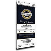 That's My Ticket New York Yankees Derek Jeter Yankees Hits Record Mega Ticket