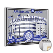 That's My Ticket New York Yankees Yankee Stadium Canvas Print