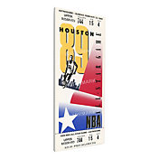That's My Ticket 1989 NBA All-Star Game Canvas Ticket