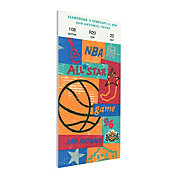 That's My Ticket 1996 NBA All-Star Game Canvas Ticket