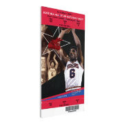 That's My Ticket 2002 NBA Slam Dunk Contest Canvas Ticket